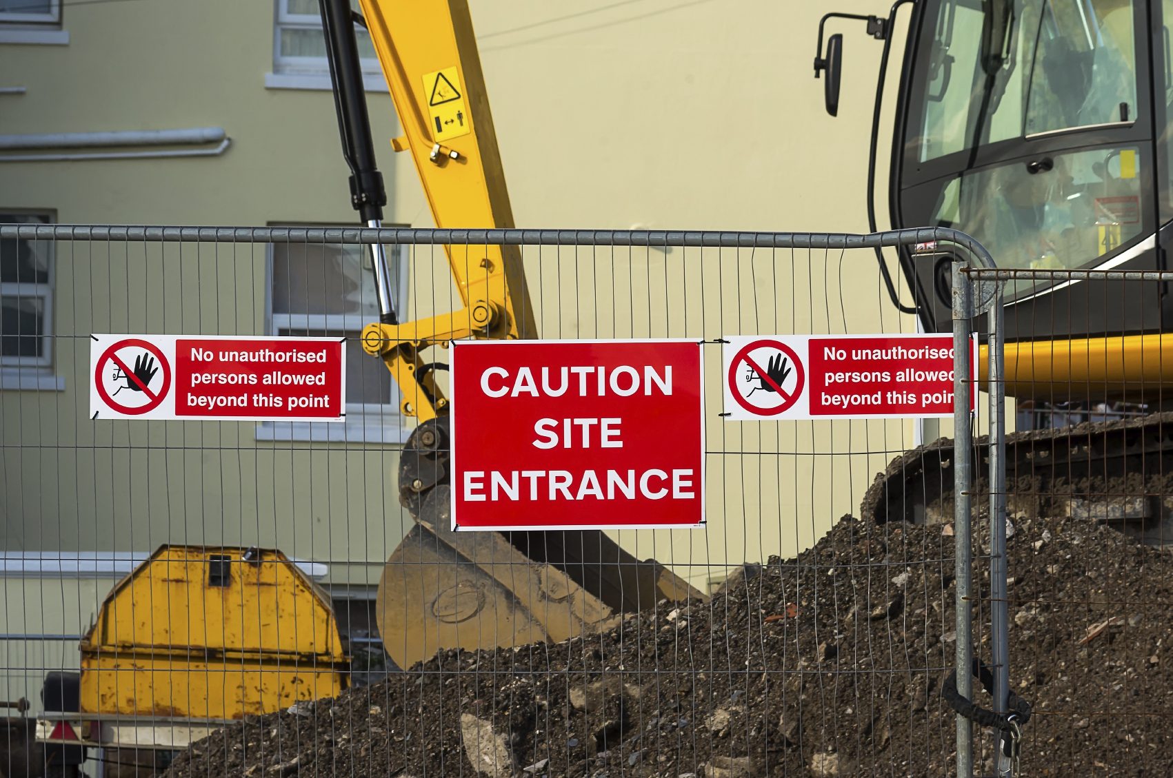 Construction Site Entrance - iStock_000052232216_Medium